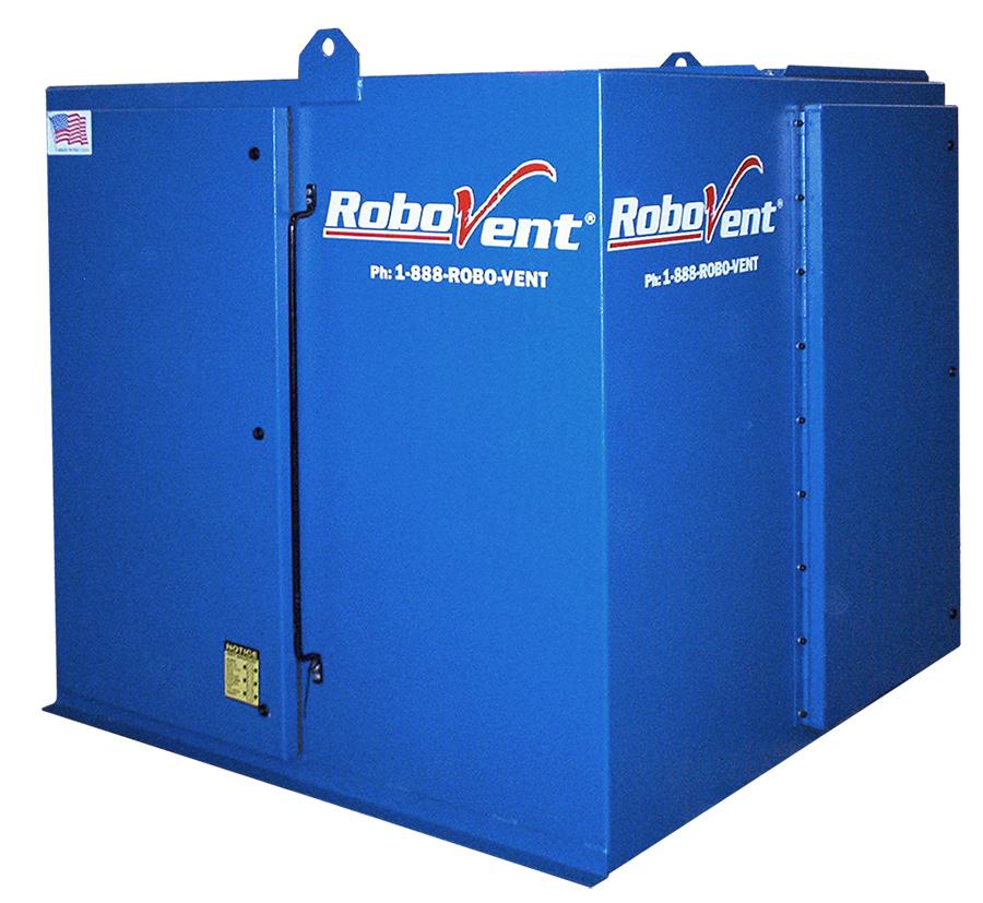 RoboVent FloorSaver Series for Weld Cell Ventilation