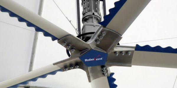 RoboVent Blade® : High-Volume, Low-Speed Fan