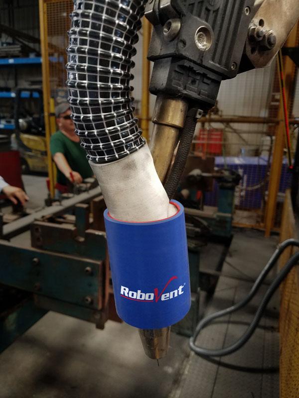 RoboVent FlexTrac Robotic Tip Fume Extraction