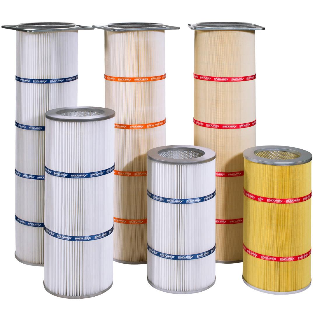Endurex RMO Cartridge Filters, Dust & Fume Air Filters