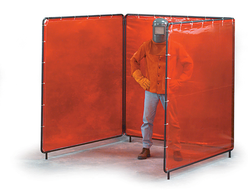 Welding and Sanding Safety Curtains