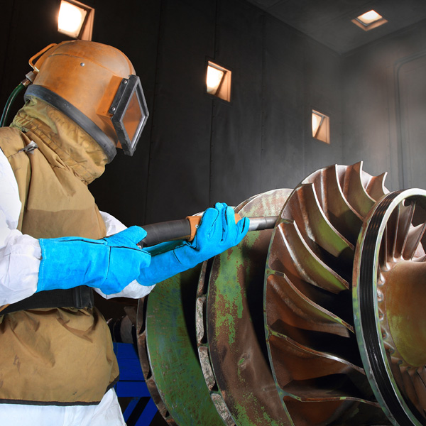Abrasive Blasting Dust Collection