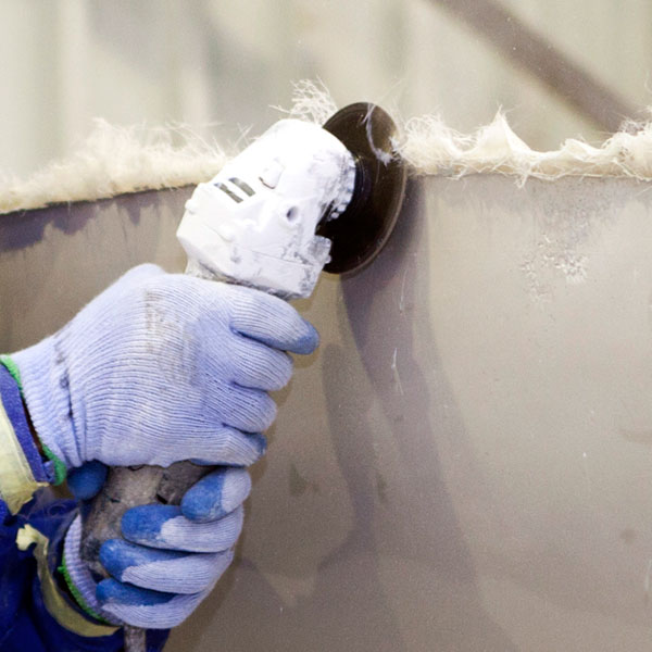 Finegrinding Fiberglass Dust Exposure